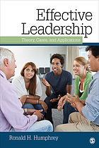 Effective leadership : theory, cases, and applications