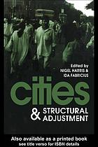 Cities and structural adjustment