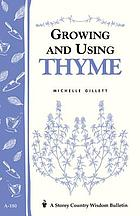 Growing and using thyme