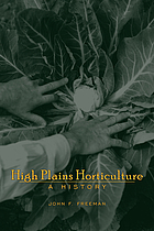 High Plains horticulture : a history
