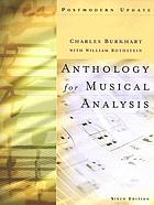 Anthology for musical analysis : postmodern update