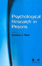 Psychological research in prisons