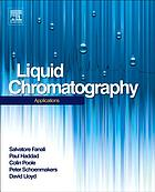 Liquid chromatography. Applications