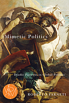 Mimetic Politics: Dyadic Patterns in Global Politics.