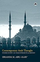 Contemporary Arab thought : studies in post-1967 Arab intellectual history
