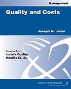 Quality and costs