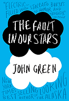 book jacket of The Fault in Our Starts