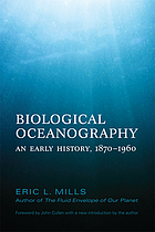 Biological oceanography : an early history, 1870-1960