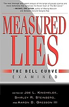 Measured lies : The belle curve examined