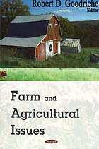 Farm and agricultural issues