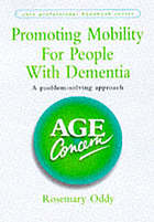 Promoting mobility for people with dementia : a problem-solving approach
