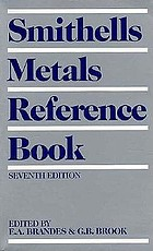 Smithells metals reference book.