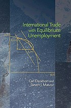 International trade with equilibrium unemployment