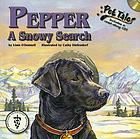 Pepper, a snowy search