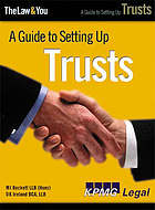 A guide to setting up trusts
