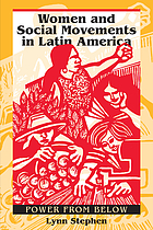 Women and social movements in Latin America : power from below