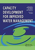 Capacity development for improved water management