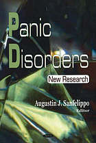 Panic disorders : new research