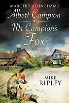 Margery's Allingham's Mr Campion's fox