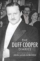 The Duff Cooper diaries, 1915-1951