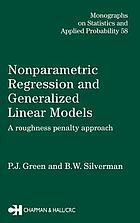 Nonparametric regression and generalized linear models : a roughness penalty approach