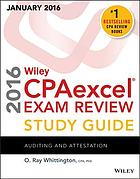 Wiley CPAexcel exam review study guide January 2016. Auditing and attestation