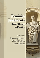 Feminist judgments : from theory to practice