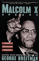 Malcolm X speaks : selected speeches and statements