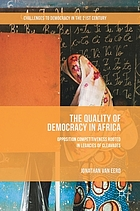 The quality of democracy in Africa : opposition competitiveness rooted in legacies of cleavages