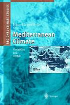 Mediterranean climate : variability and trends