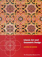 Islamic art and geometric design : activities for learning