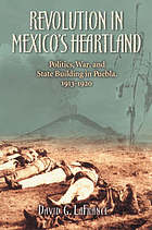 Revolution in Mexico's heartland : politics, war, and state building in Puebla, 1913-1920