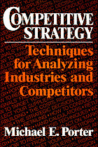 Competitive strategy : techniques for analyzing industries and competitors.