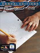 Annual editions : education 01/02