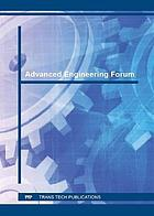 Advanced engineering forum. Volume 18