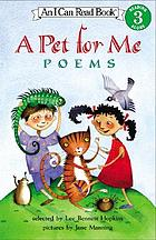 A pet for me : poems
