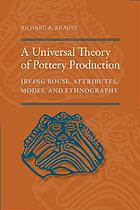 A universal theory of pottery production : Irving Rouse, attributes, modes, and ethnography