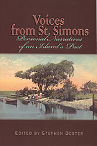 Voices from St. Simons : personal narratives of an island's past