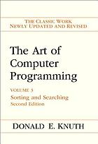 The art of computer programming. Volume 3, Sorting and searching