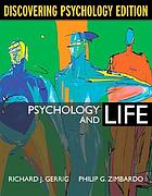 Psychology and life discovering psychology