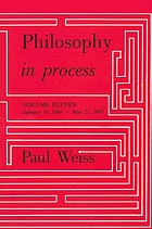 Philosophy in process.