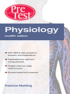 Physiology : PreTest self-assessment and review