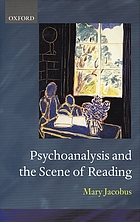 Psychoanalysis and the scene of reading