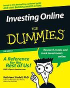 Investing online for dummies.