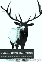 American animals; a popular guide to the mammals of North America north of Mexico, with intimate biographies of the more familiar species,