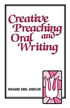 Creative preaching and oral writing