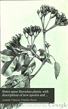 Notes upon Hawaiian plants, with descriptions of new species and varieties.