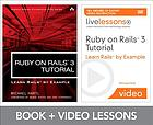 Ruby on Rails 3 tutorial livelessons bundle : Learn Rails by example