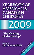 Yearbook of American & Canadian churches, 2009