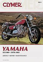 Yamaha XS1100 fours, 1978-1981 : includes special service, repair, maintenance